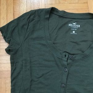 Bundle of three Hollister Henley Button Tops